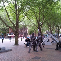 Photo taken at Occidental Square by Ágnes U. on 7/27/2012