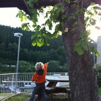 Photo taken at Elbfähre Schmilka by Katja v. on 5/18/2012
