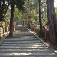 Photo taken at 吉田神社 by Pascal V. on 4/9/2012