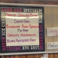Photo taken at Lone Oak Ice Cream by Bob S. on 7/28/2012