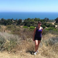 Photo taken at East Topanga Fire Road Trailhead by Lauren C. on 6/23/2012