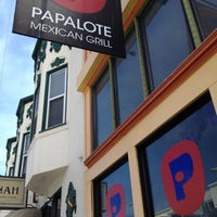 Photo taken at Papalote Mexican Grill by Dan on 8/16/2012