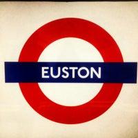 Photo taken at London Euston Railway Station (EUS) by Nikki J. on 8/14/2012