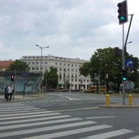 Photo taken at Plac Wilsona by Oskar W. on 9/12/2012