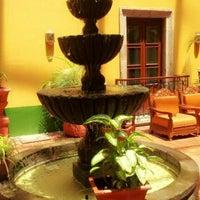 Photo taken at Hotel San Francisco Plaza by Santiago V. on 9/13/2012