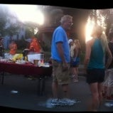 Photo taken at National Night Out Healy Block by Dragan Č. on 8/8/2012