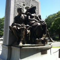 Photo taken at John Boyle O'Reilly Monument by Totsaporn I. on 6/15/2012