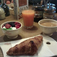 Photo taken at Le Pain Quotidien by Karim K. on 2/5/2012