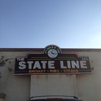 Photo taken at The State Line Bar-B-Q by Tim S. on 5/18/2012