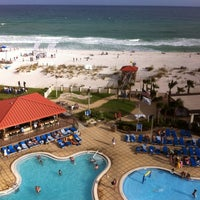 Photo taken at Hilton Pensacola Beach by Heath on 6/23/2012