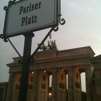 Photo taken at Pariser Platz by Wilfred on 8/24/2012