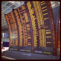 Photo taken at Gare SNCF d'Aéroport Charles de Gaulle TGV by 26893454 on 8/10/2012