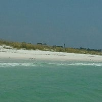 Photo taken at Shell Island by Bailey C. on 7/3/2012