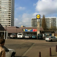 Photo taken at Lidl by Wim J. on 3/29/2012