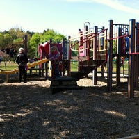 Photo taken at Zervas Playground by Julie H. on 4/28/2012