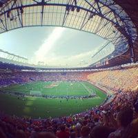 Photo taken at Metalist Stadium by Anastasia on 6/9/2012