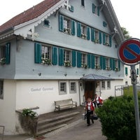 Photo taken at Gasthof Gyrenbad by Stefan S. on 6/24/2012