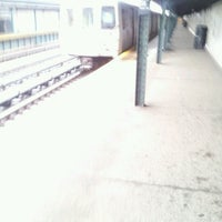 Photo taken at MTA Subway - 88th St/Boyd Ave (A) by Joey on 6/13/2012