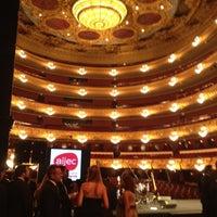 7/23/2012 tarihinde Jesús O.ziyaretçi tarafından Liceu Opera Barcelona'de çekilen fotoğraf