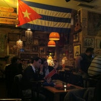 Photo taken at La Bodeguita del Medio by Pavel R. on 4/15/2012