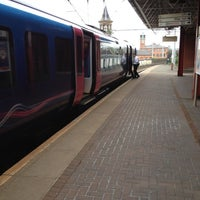 Photo taken at Deansgate Railway Station (DGT) by Ayman A. on 5/18/2012