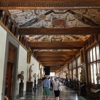 Photo taken at Uffizi Gallery by Cristobal D. on 6/8/2012