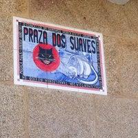 Photo taken at Praza dos Suaves by Jordi B. on 7/29/2012