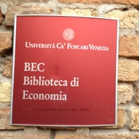 Photo taken at BEC - Biblioteca Economia by Dario R. on 3/5/2012