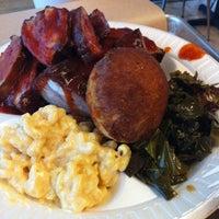 Photo taken at Mrs. Smokeys Real Pit BBQ by Deena on 6/22/2012