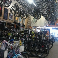 Photo taken at Helen's Cycles by Ryan H. on 6/7/2012