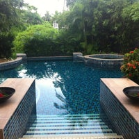Photo taken at Bayan Tree Mo'candyMo'candy Pool Villa by Anastasia on 7/29/2012
