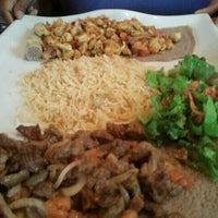 photo taken at desta ethiopian kitchen by daren g on 932012 - Desta Ethiopian Kitchen