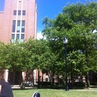 Photo taken at DePaul University Quad by Marcus R. on 6/5/2012