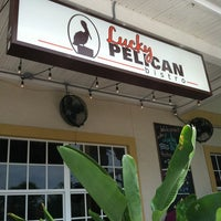 Photo taken at Lucky Pelican Bistro by Furreal ®. on 5/15/2012