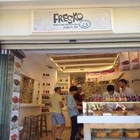 Photo taken at Fresko Yogurt Bar by Cuni V. on 9/4/2012