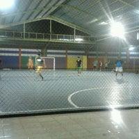 Photo taken at Arrayan Futsal by Permana A. on 4/19/2012