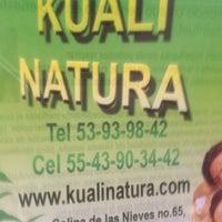 Photo taken at Kuali Natura by Rocio Q. on 8/11/2012