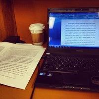 Photo taken at AU – Bender Library by Nicholas B. on 4/23/2012