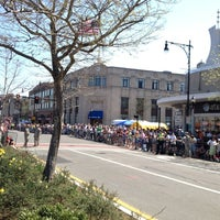 Photo taken at Coolidge Corner by Stephen E. on 4/16/2012