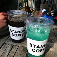 Photo taken at STANDING COFFEE by Sookyung K. on 4/14/2012