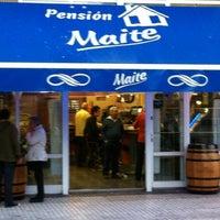 Foto tomada en Bar Maite por Silvia el 6/12/2012
