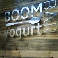 Photo taken at Boom Yogurt Bar by Colorado Card on 6/22/2012