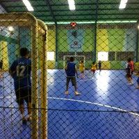 Photo taken at Lapangan Futsal BSC (Ringroad) by Jonathan C. on 8/3/2012