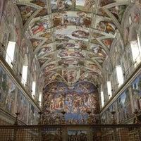 Photo taken at Sistine Chapel by Michael P. on 4/7/2012