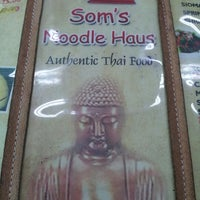 Photo taken at Som's Noodle House by Bap F. on 7/26/2012