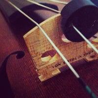 Photo taken at Von's Violin Shop by LM on 4/21/2012