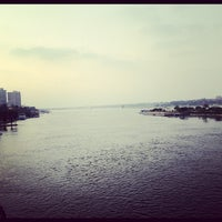 Photo taken at Corniche El Maadi by Mukul kumar S. on 9/8/2012