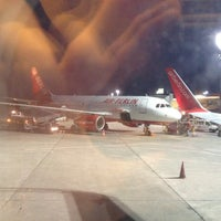 Photo taken at airberlin Flight AB 6451 by Wolfgang B. on 4/27/2012