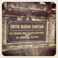 Photo taken at Griya Budha Gunung Sari by Joe N. on 5/16/2012