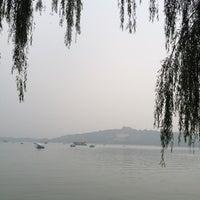 Photo taken at 昆明湖 Kunming Lake by Michael W. on 7/8/2012